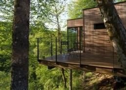 coworking cabane dans las arbres en pleine nature isére