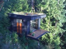 cabane travail coworking dans les arbres